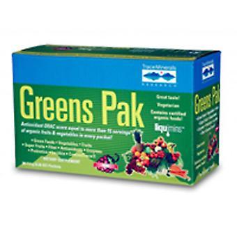 Trace Minerals Greens Pak, Berry 30 paks