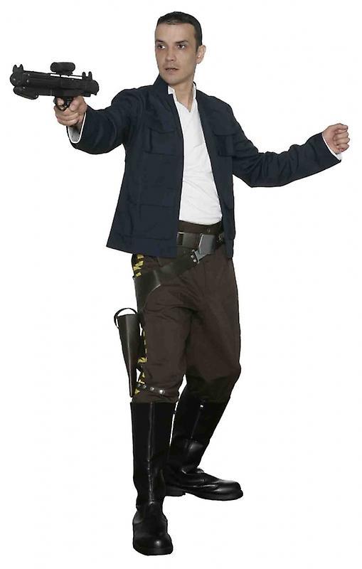 Star Wars Han Solo kostium - Imperium uderza tylną replika - najlepsze w sieci