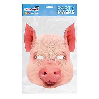 Mask-arade Pig Party Mask