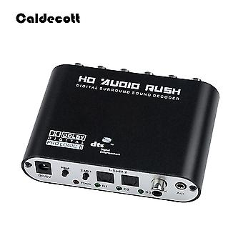 Caldecott Ch Audio Decoder, Spdif Coaxial To Rca, Dts Optical Digital Amplifier