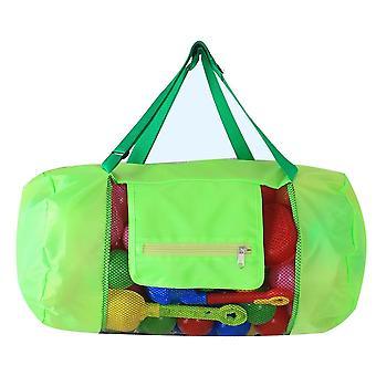 Sac fourre-tout pour les enfants et les enfants de plage Satchel Crossbody &mesh pour le stockage de l'organisateur de jouets