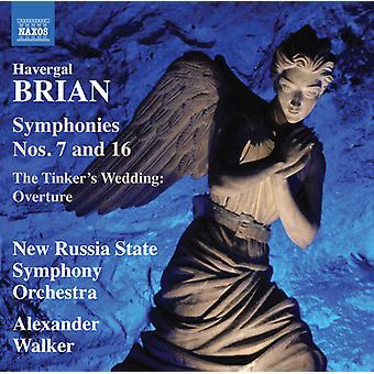 Symphonies 7 & 16 [CD] USA import