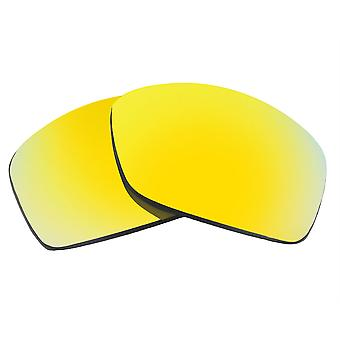 Replacement Lenses for Oakley Hijinx Sunglasses Anti-Scratch Gold Mirror