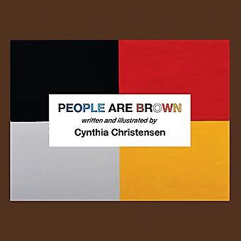 Mensen zijn bruin