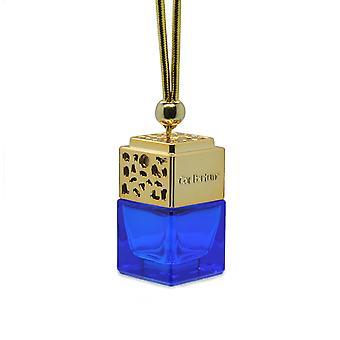 Designer i bil luft freshner diffuser olie fragranceinspiBlue af (Gucci Skyldig for hende) Parfume. Guldlåg, Blå flaske 8ml