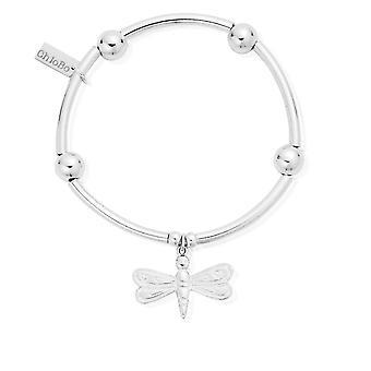 ChloBo Noodle Ball Dragonfly Bracelet SBNB403