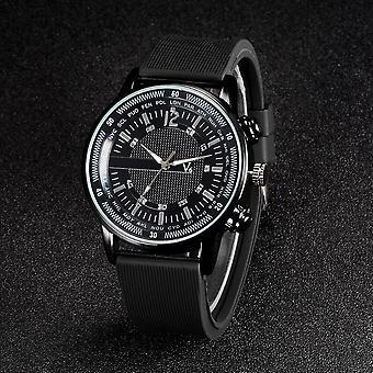 V6 watch black rubber men's watch women's watch