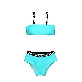 Children's Swimsuit-'s Sports Bikini Set