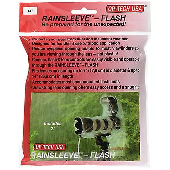 Op/tech rainsleeve flash - twin pack flash 14-inch