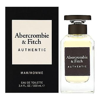 Authentic for men by abercrombie & fitch 3.4 oz eau de toilette spray fe22929