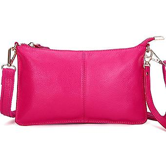 Genuine Leather Day, Clutches Candy/ Crossbody, Small Clutch Bags