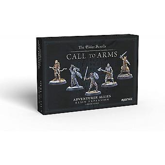 The Elder Scrolls Call To Arms Adventurer Allies