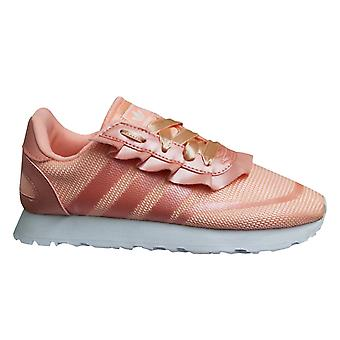 Adidas Originals N-5923 Clear Orange Girls Low Lace Up Kids Trainers DB3582