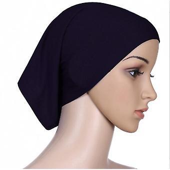 70* 180cm muzulmán ráncos hidzsáb sál Femme Puha pamut fejkendő iszlám hidzsáb