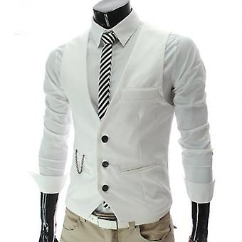 Men Vests, Waistcoat, V Neck Sleeveless, Buttons Blazer Plus Size,mal
