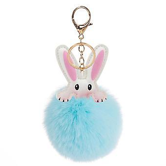 Rabbit Bags Hangings, Male, Female, Plush, Genuine Rex Suit, Pendant Bunny
