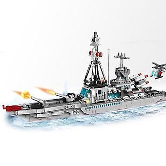 1000+PCS海軍航空機フィギュア - ビルディングブロック陸軍軍艦建設