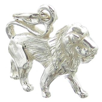 Leo The Lion Sterling Silver Charm .925 X 1 Lions Charms - 335