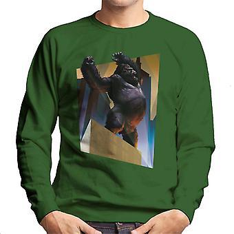 King Kong City Lights Roaring Rage Men's Sweatshirt
