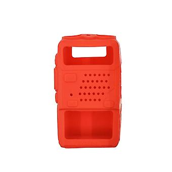 Holster Siliconen Handheld Cover Shell Voor Baofeng Two Way Mobile Radio Uv5r 5ra