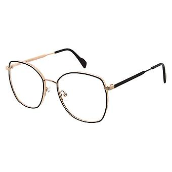 Andy Wolf 4764 04 Rose Gold-Black Glasses