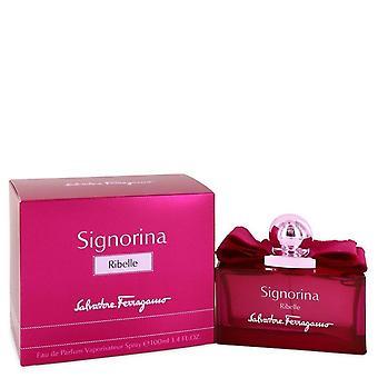 Signorina Ribelle Eau De Parfum Spray By Salvatore Ferragamo 3.4 oz Eau De Parfum Spray