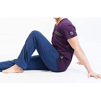 Calm Comfort Mens V-Neck T-Shirt - Bamboo, Organic Cotton