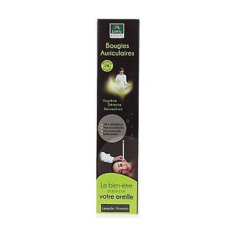 Lavendel Candle Øretelefon - Rosemary 1 enhed
