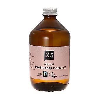 Zero Waste Apricot Shaving Soap 500 ml