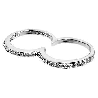 Ladies' Ring Sif Jakobs R10811-2-CZ-54 (Talla 14) (Size 14)