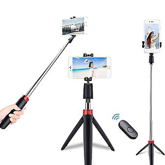 Wireless Bluetooth Selfie Stick Remote Control Tripod Live Photo Holder Tripod