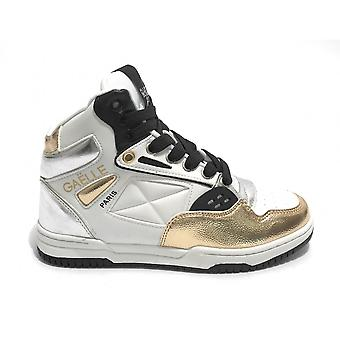 Shoes Women Gaëlle Sneaker High Vintage White/ Gold/ Silver Ds21ge09 Gbds2293