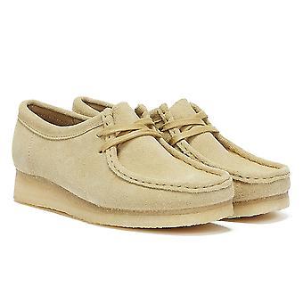 كلاركس والابي سويد النساء البيج أحذية