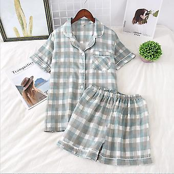 Japanese Simple Short Pyjamas Women