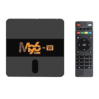 M96-w s905w älytelevisio laatikko android 7.1 4k youtube mediasoitin asetettu