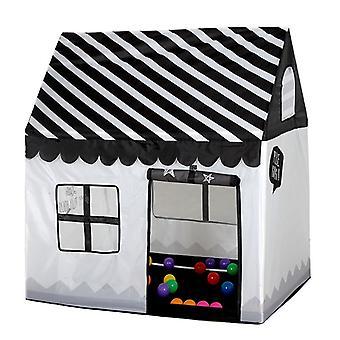 الأطفال المنزلية الطباعة لعب خيمة صغيرة لعبة البيت (أبيض أسود)