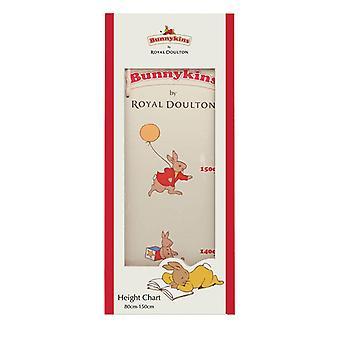 Bunnykins wooden height chart