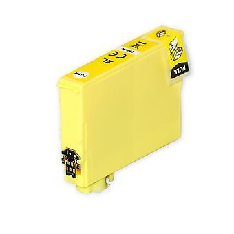 1 gul blækpatron til erstatning af Epson 502XLY-kompatibel/ikke-OEM fra Go Inks