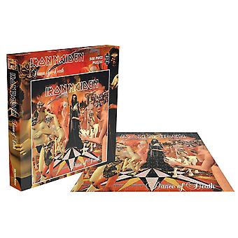Iron Maiden Jigsaw Puzzle Dance Of Death Album Cover new Official Red 500 Piece