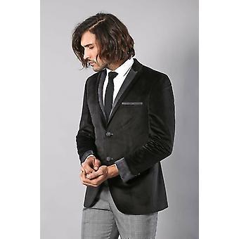 Black velvet jacket for men | wessi
