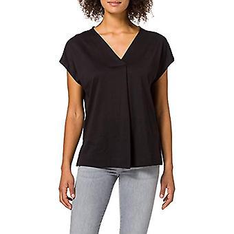 ESPRIT Collection 041EO1K314 T-Shirt, 001/BLACK, Large Woman