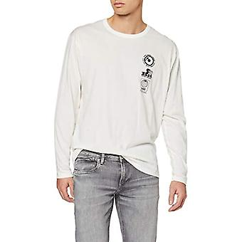 Pepe Jeans Bollin T-Shirt, Ivory (Mousse 808), One Size (Herstellergro and: X-Large) Men