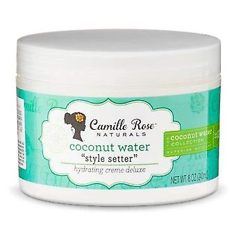 Camille Rose Coconut Water Style Setter Creme 8oz