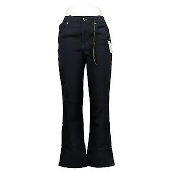 DG2 by Diane Gilman Women's Jeans 8Petite Virtual Stretch Boot-Cut Blue733553