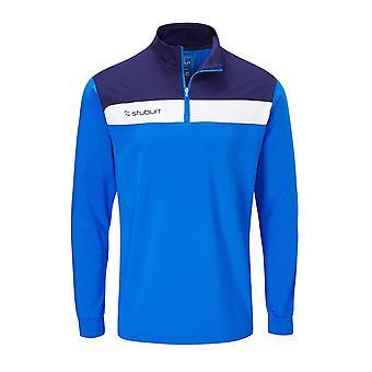 Stuburt Mens Extreme Half Zip Mid Layer Pullover Jumper Sweaters Sports Top