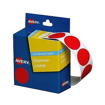 Avery Dispenser Red 24Mm Roll 500