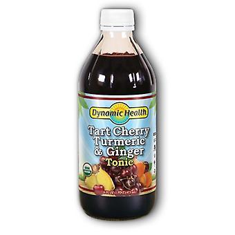Dynamic Health Laboratories Organic Tart Cherry Turmeric-Ginger, 16 Oz