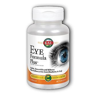 Kal Eye Formula Plus, 60 onglets
