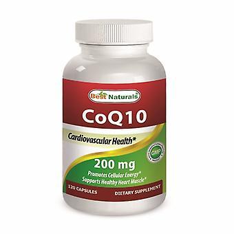 Best Naturals CoQ10, 200 mg, 120 Caps