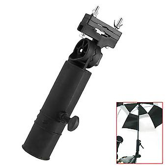 Duurzame Golfclub Paraplu houder Stand Zwarte Connector Stand Voor Fiets Buggy